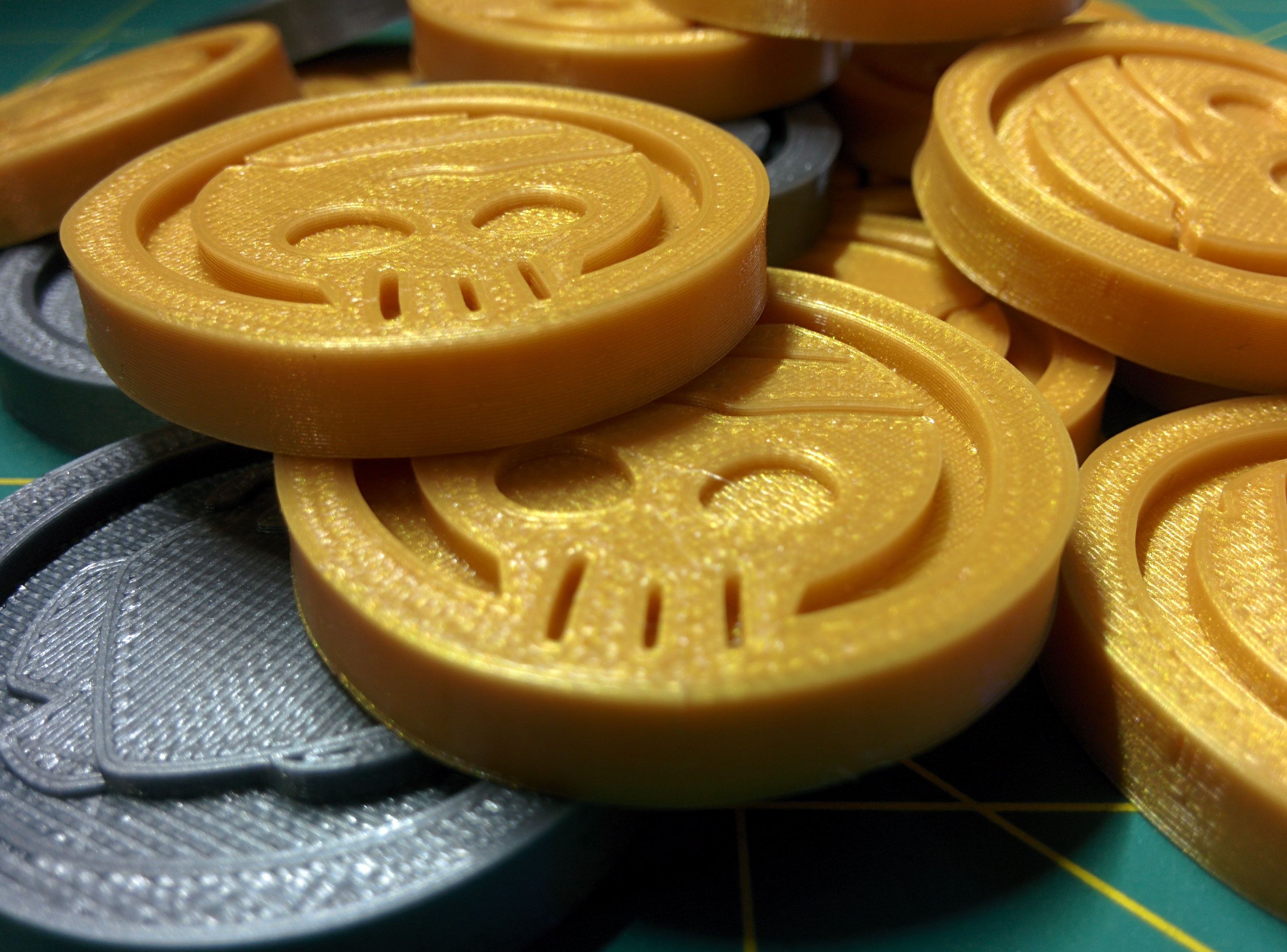 3D-Printed Schwag Preview!